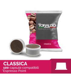 100 Capsule MISCELA CLASSICA Toraldo Sistema Lavazza Espresso Point