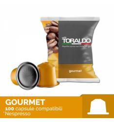 100 Capsule MISCELA GOURMET Toraldo Sistema Nespresso