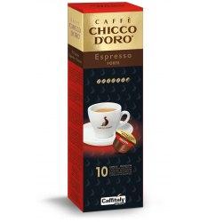 10 Capsule Chicco d'Oro ESPRESSO FORTE Sistema Caffitaly System