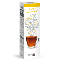 10 capsule ecaffè THE AL LIMONE sistema caffitaly system