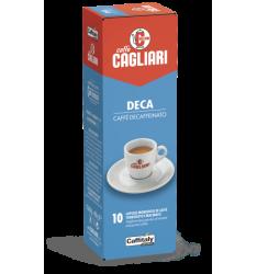 10 Capsule Cagliari DECA Sistema Caffitaly System