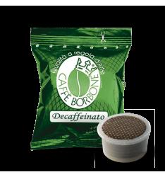 100 Capsule Borbone Compatibili Sistema Lavazza Espresso Point Miscela Verde/Dek