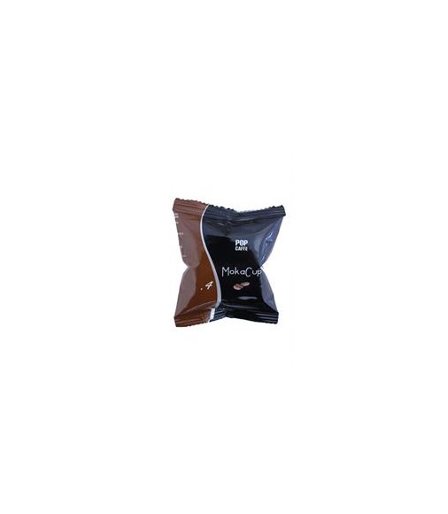 50 capsule POP Caffè per sistema UNO miscela Decaffeinato MokaCup 4