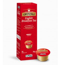 10 Capsule Twinings ENGLISH BREAKFAST TEA Sistema Caffitaly System