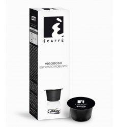 10 Capsule Ecaffè VIGOROSO Sistema Caffitaly System