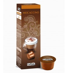 10 Capsule MOCACCINO Sistema Caffitaly System