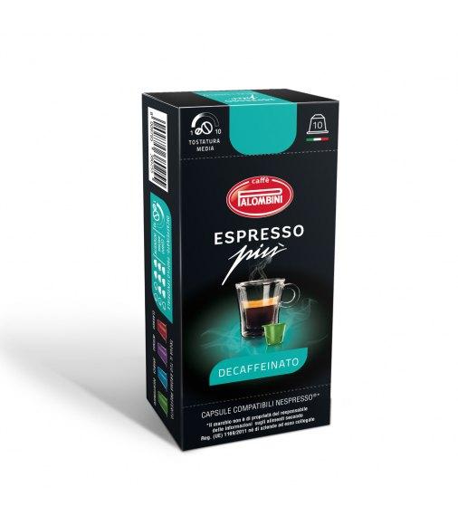 10 Capsule Palombini DECAFFEINATO Compatibile Nespresso