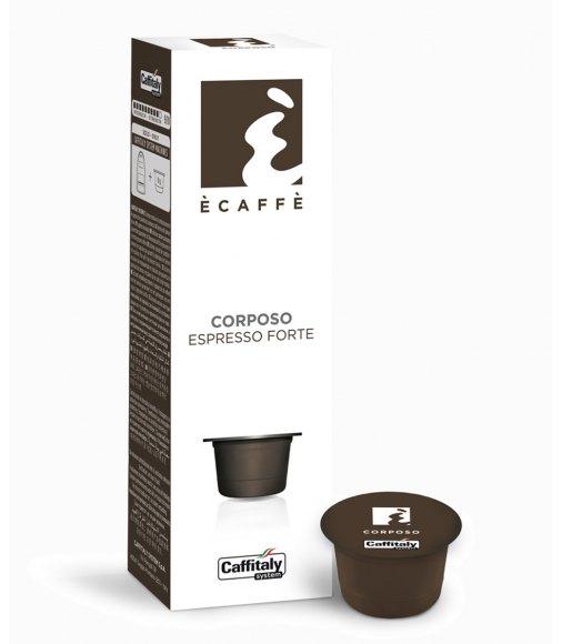 10 capsule ecaffè CORPOSO sistema caffitaly system