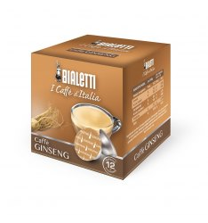 Box 12 Capsule BIALETTI i caffè d'italia GINSENG
