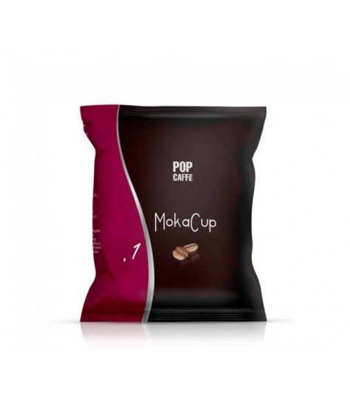 POP CAFFÈ CAPSULE MOKACUP MISCELA 1 INTENSO COMPATIBILI DOMO CAFFÈ CONF 100 PZ