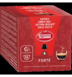 BOX 16 CAPSULE PALOMBINI FORTE SISTEMA DOLCE GUSTO