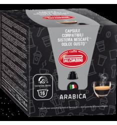 BOX 16 CAPSULE PALOMBINI ARABICA SISTEMA DOLCE GUSTO