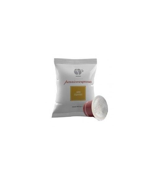 100 Capsule Lollo Caffè Compatibile Nespresso Miscela ORO