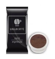 100 Capsule Lollo Caffè Compatibile Sistema Lavazza Espresso Point Miscela NERA