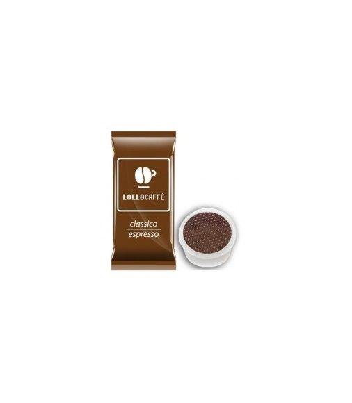 100 Capsule Lollo Caffè Compatibile Sistema Lavazza Espresso Point Miscela CLASSICA