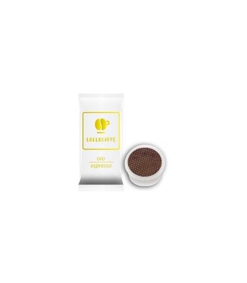 100 Capsule Lollo Caffè Compatibile Sistema Lavazza Espresso Point Miscela ORO