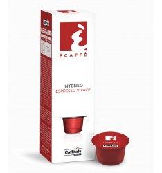10 capsule ecaffè INTENSO sistema caffitaly system