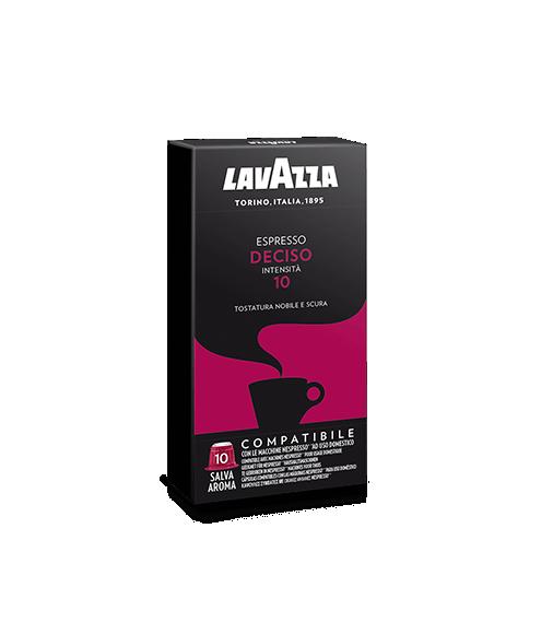 Box 10 Capsule Lavazza DECISO Compatibile Nespresso