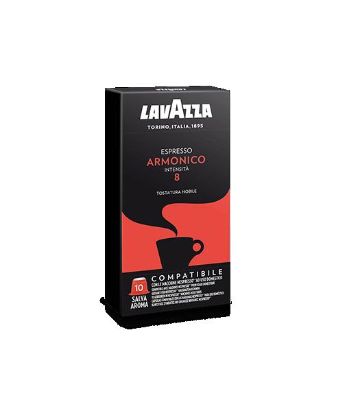 Box 10 Capsule Lavazza ARMONICO Compatibile Nespresso