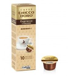 10 Capsule Chicco D'Oro ESPRESSO L'ITALIANO Sistema Caffitaly System