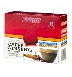 10 Capsule Ristora GINSENG Compatibili Nespresso