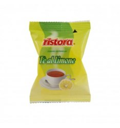 25 Capsule Ristora THE LIMONE Compatibili Lavazza Espresso Point