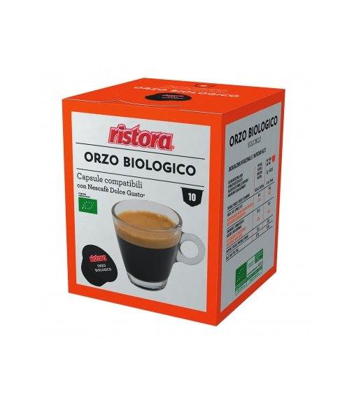 10 Capsule Ristora ORZO Compatibili Nescafe Dolce Gusto