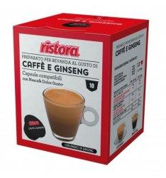 10 Capsule Ristora GINSENG Compatibili Nescafe Dolce Gusto