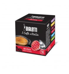 Box 16 Capsule BIALETTI i caffè d'italia ROMA gusto intenso