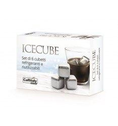 Set di 6 cubetti ICE CUBE refrigeranti e riutilizzabili