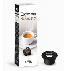10 Capsule ESPRESSO ROBUSTO Sistema Caffitaly System