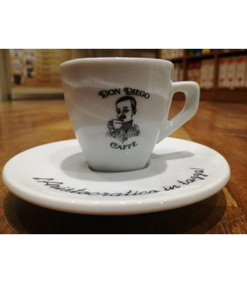 SET 6 TAZZINE IN CERAMICA DON DIEGO CAFFE'