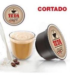 16 Capsule To.Da CORTADO Compatibili Nescafe Dolce Gusto