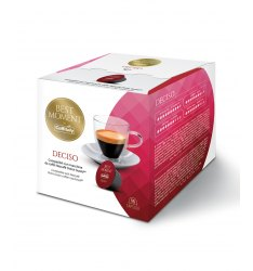 BOX 16 CAPSULE CAFFITALY SYSTEM MISCELA DECISO SISTEMA NESCAFE DOLCE GUSTO