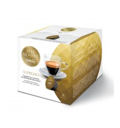 BOX 16 CAPSULE CAFFITALY SYSTEM MISCELA SUPREMO SISTEMA NESCAFE DOLCE GUSTO