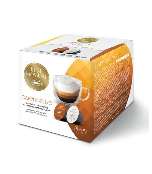 BOX 16 CAPSULE CAFFITALY SYSTEM MISCELA CAPPUCCINO SISTEMA NESCAFE DOLCE GUSTO