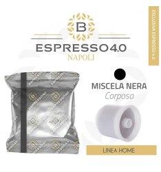 80 Capsule NERO Caffè Barbaro Compatibile Illy Iperespresso