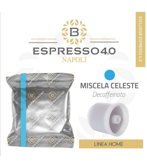 80 Capsule DECAFFEINATO Caffè Barbaro Compatibile Illy Iperespresso